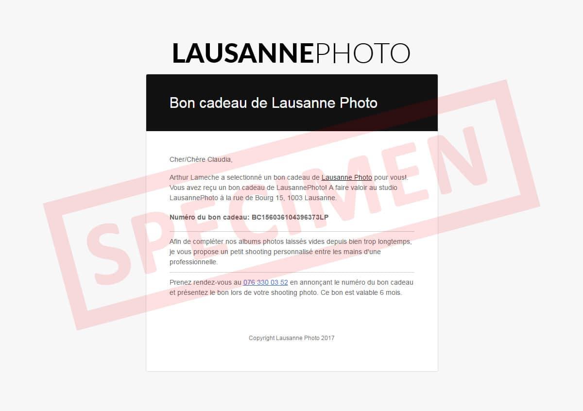 Assez Bon Cadeau 60min Shooting – Lausanne Photo OQ13